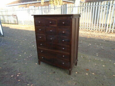 £210 • Buy Great Large Quality Indonesian Oriental Chest Of 12 Drawers