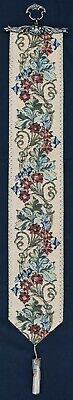 £33 • Buy Tapestry Bell Pull - William Morris Floral 114x16cm  45 X6.5  Approx Size