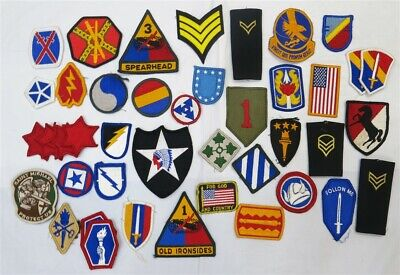 $25 • Buy Huge Lot Of Vintage & Modern US Military Patches (e)