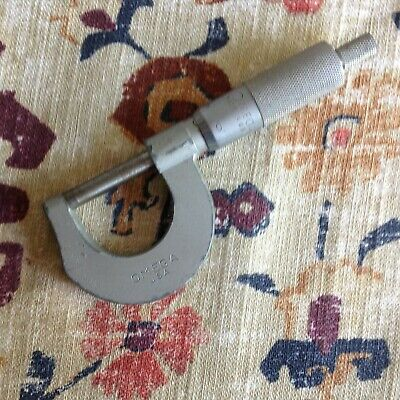 $9.99 • Buy VINTAGE Omega 1  Machinist Micrometer - Measures 1/1000 - Made In USA