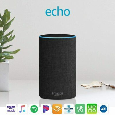 AU12.50 • Buy BRAND NEW - Echo (2nd Generation) Smart Speaker With Alexa And Dolby - RRP $149