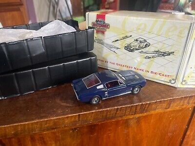 £12 • Buy MATCHBOX DINKY 1967 FORD MUSTANG FASTBACK METALLIC BlUe  1/43  Box New Free Pp