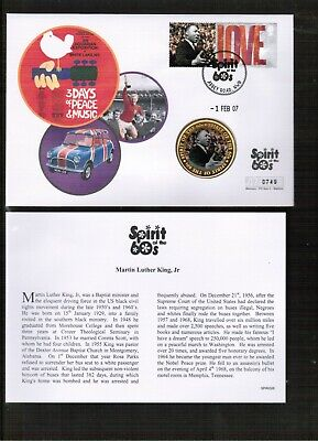 £0.99 • Buy GB Spirit Of The 60's Martin Luther King Medallion Cover