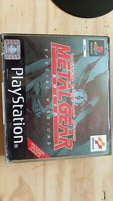 £10 • Buy Metal Gear Solid Special Missions Ps1
