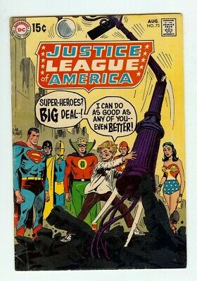 £1.43 • Buy 1969 Justice League Of America #73 Comic Book - Includes Bag And Backing Board
