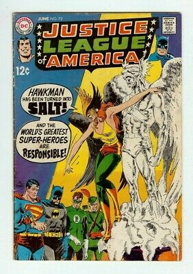 £1.43 • Buy 1969 Justice League Of America #72 Comic Book - Includes Bag And Backing Board
