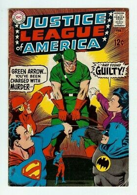 £1.43 • Buy 1969 Justice League Of America #69 Comic Book - Includes Bag And Backing Board