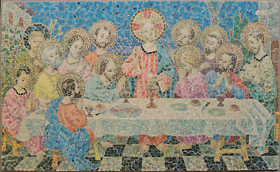 £31 • Buy Vintage Eric Bond Wooden Jigsaw Puzzle.  The Last Supper . 485 Pieces