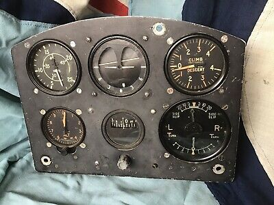 £1200 • Buy REAL WW2 RAF Aircraft Blind Flying Instrument Panel 6A/760 AM Spitfire Hurricane
