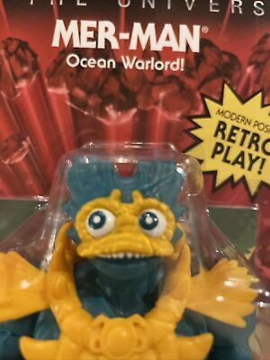 $1000 • Buy Masters Of The Universe Origins Mer-Man LoP Lords Of Power Wave 5 *With Error*