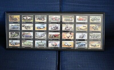 £19.99 • Buy Grandee Famous M.G. Marques Full Set Of 28 Cigarette Cards FRAMED