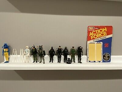 $ CDN32.60 • Buy GI Joe 1983 S.A.S. Palitoy UK Action Force Lot Of 9 Figures + Accessories