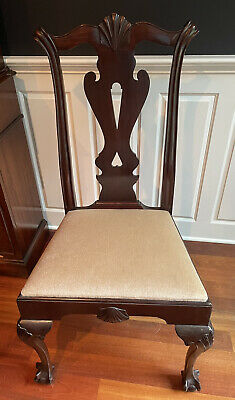 $1000 • Buy Antique Chippendale Style Dining Chairs (set Of 4). American Circa 1870s