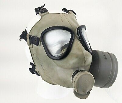 $50 • Buy Genuine U.S. Military Issue M9 Field Protective Gas Mask Size Medium 1947-1960s