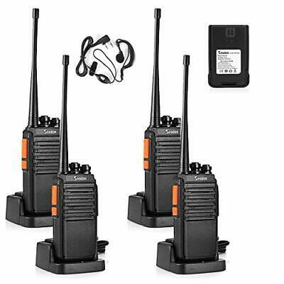 £55.17 • Buy Walkie Talkies Long Range Up To 5 Miles With One Extra Battery Each Radio 4 Pack