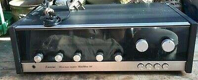 £91 • Buy VINTAGE SANSUI 310 AM / FM STEREO TUNER AMPLIFIER  RECIEVER  Full Working Order