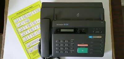 £0.99 • Buy SHARP UX 216 Telephone & Fax Machine Complete With Cables & Manual & 5 Rolls