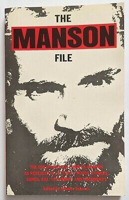 £44.99 • Buy The Manson File (1995) Rare Paperback Book Published By Amok Press U.S.A.