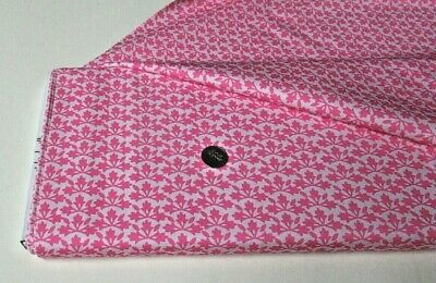$10.77 • Buy Michael Miller Quilt-craft Fabric BLOSSOM BLOCK Pink 2 Yds (cx-9506) Bungalow