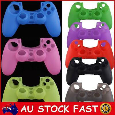 AU8.22 • Buy Silicone Rubber Soft Case Skin Cover For PS4 Controller Grip Handle Console