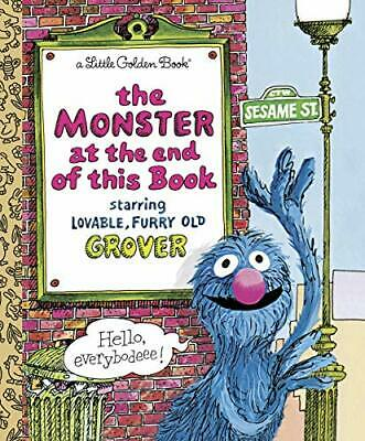£12.99 • Buy Monster At The End Of The Book (Little Golden Books) By Stone, Jon Hardback The