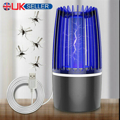£10.94 • Buy Electric Insect Mosquito Killer Fly Pest Bug Zapper Catcher Trap LED USB Lamp UK