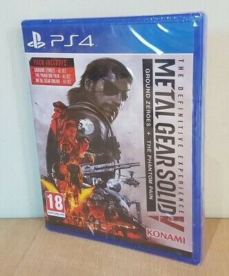 £14.75 • Buy Metal Gear Solid V Definitive Experience Playstation 4 Pal UK New Factory Sealed
