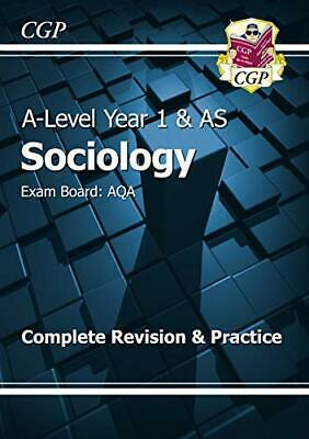 £8.49 • Buy A-Level Sociology: AQA Year 1 & AS Complete Revision & Practice:... By CGP Books