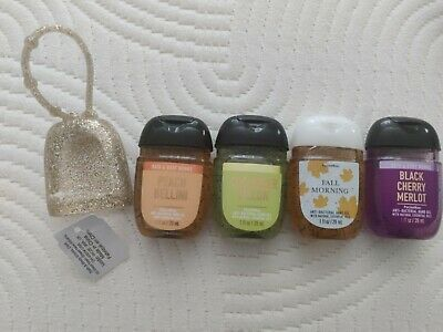 £11.99 • Buy Bath And Body Works Set, 4 Hand Gels And Glitter Holder