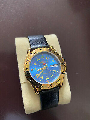 £35 • Buy VINTAGE SEIKO 5 Gold Diver Blue Dial Automatic Mens Watch
