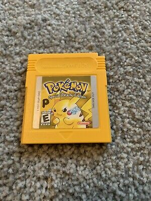 $49.99 • Buy RARE Pokemon Special Pikachu Edition Yellow Edition! Saves! Authentic! FREE SHIP