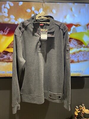 £15 • Buy Duck And Cover Grey Mens Top XXL (rrp 54.99)