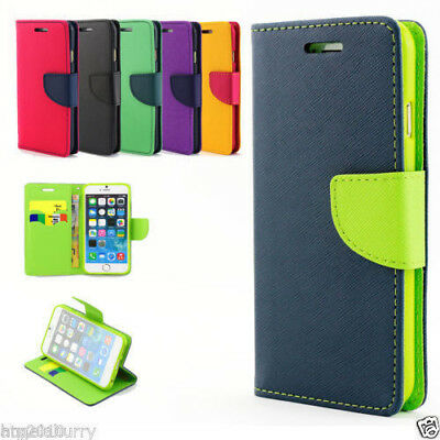AU4.49 • Buy For IPhone X 7 8 Plus Open Side Up Leather Wallet Card Slot Holder Case Cover