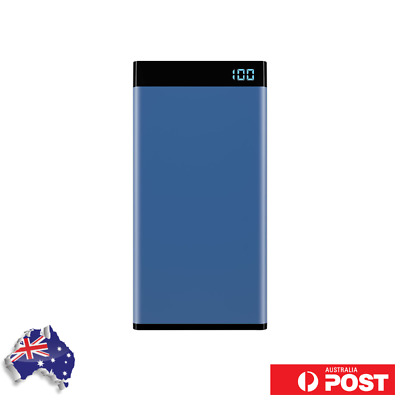 AU19.99 • Buy Laser 10000mAh Power Bank With 3-in-1 Cable And LED Display Blue