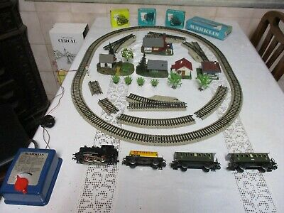 $ CDN482.75 • Buy Vintage 1964 Complete Germany Marklin HO Train Set Tested Fully Functional