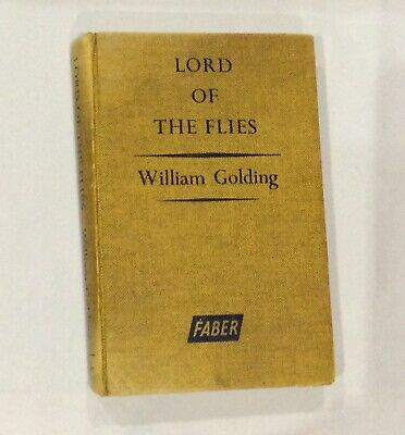 £9.99 • Buy Vintage Lord Of The Flies By William Golding, Hardback Book. Faber 1962
