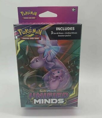 $29.99 • Buy Pokemon TCG Sun & Moon Unified Minds Hanger Box 3 Booster Packs Sealed SHIP FAST