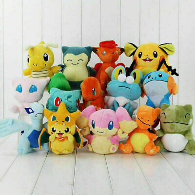 £3.19 • Buy New Pokemon Collectible Plush Character Soft Toy Stuffed Doll Teddy Xmas Gift