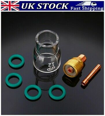 £9.66 • Buy TIG Welding Torch Stubby Gas Lens Pyrex Glass Cup-Kit For Welder Torches Parts