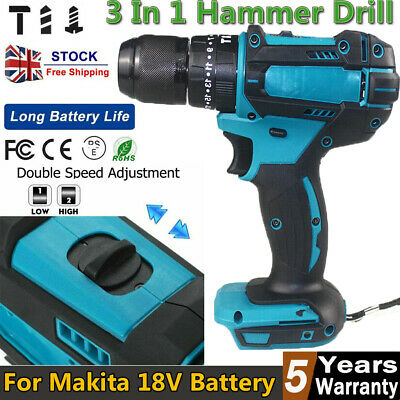 £38.55 • Buy 3 In 1 Replace For MAKITA 18V Cordless Brushless Impact Driver 1/2  Hammer Drill