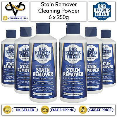 £14.95 • Buy 6x Bar Keepers Friend 250g Cleaning Powder Stain Remover & Multi-Surface Cleaner