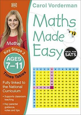 £5.39 • Buy Maths Made Easy Times Tables Ages 7-11 Key Stage 2 ( By Carol Vorderman New Book