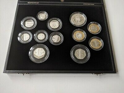 £599 • Buy 2009 Royal Mint Silver Proof Coin Set Includes Kew Gardens 50 Pence