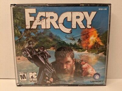 AU7.46 • Buy Far Cry 1 PC CD-ROM Game Complete 5 Disc Set In Jewel Case