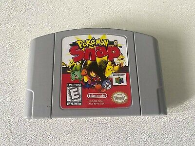 $34.99 • Buy Pokemon Snap N64 (64, 1999) Authentic, Cleaned & Working!