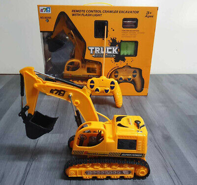 £21.99 • Buy 5 Channel Remote Control Excavator RC Digger Truck Tractor Construction Vehicles