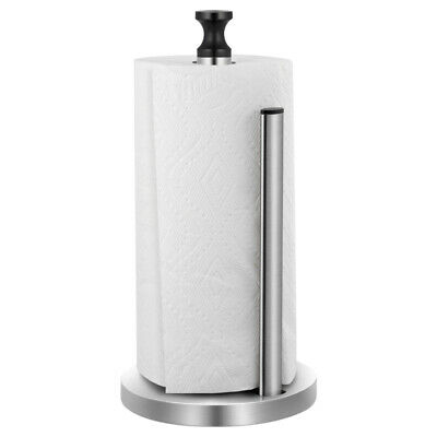 £12.59 • Buy Free Standing Stainless Steel Kitchen Roll Holder Paper Towel Stand  Rack