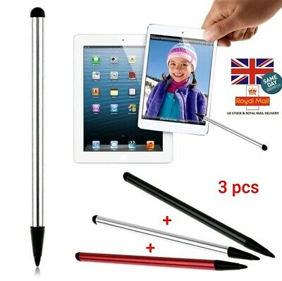 £2.75 • Buy 3pc Dual Use Stylus Touch Screen Pen For IPad IPod IPhone PDA Samsung PC