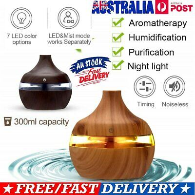 AU16.24 • Buy Aroma Aromatherapy Diffuser LED Oil Ultrasonic Air Humidifier Purifier DS