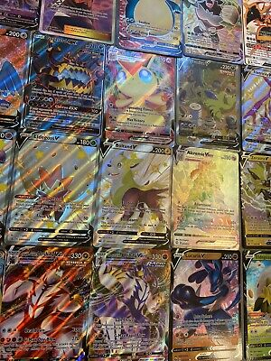 $7.99 • Buy Pokemon Card Lot 10 OFFICIAL TCG Cards Ultra Rare Included - GX EX V VMAX